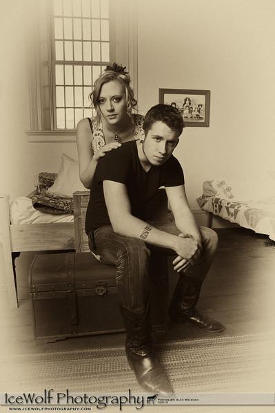 Models: Kinzie Rueckert & Shay Griffith<br /> MUA: ?<br /> Hair: ?<br /> Photographer: Alex Weisman
