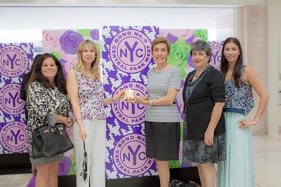 Paulin Merl, Charlotte Lorber, Bonnie Blaire, Yolanda Woodbridge and Karen Blaire