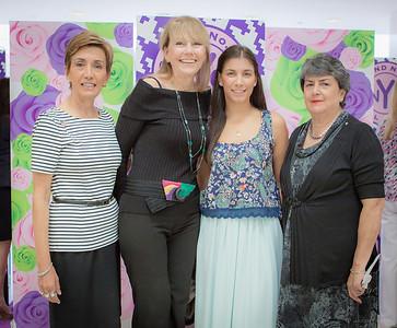 Bonnie Blaire, Gloria Burns, Karen Blaire and Yolanda Woodbridge