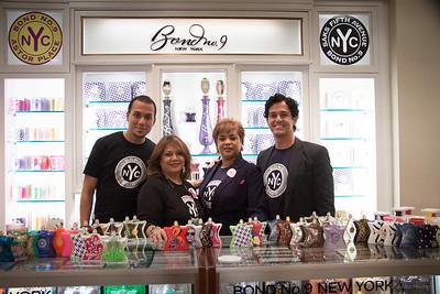 Jason Martinez, Rosa Garcia, Tamara Vazquez and Leornado Padnon