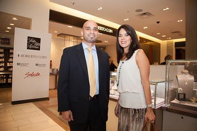 Lisette LLodra and Pablo Estepe