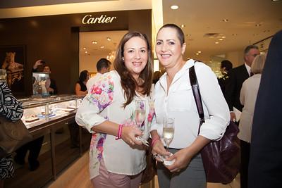 Pilar Alexander and Claudia Caparroso