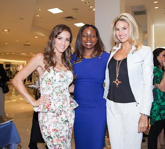 Angelique Grount Hutchinson, Romina Nabhen and Andrea Minsky