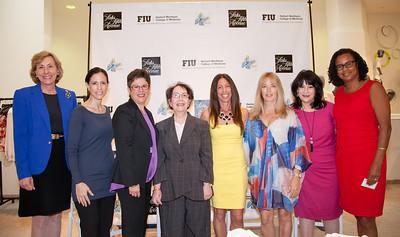 Dr. Carolyn Runowicz, Alyse Menssinger, Dr. Yolangel Hernandez -Suarez, Dr. Pamela Garijan, Debbie Tiamo , Kerry Perez, Fran Burrin and Dr. Ivonne Johnson