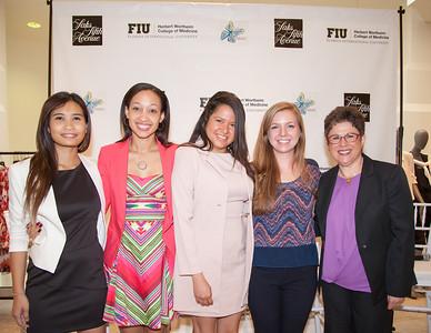 Emily Tongdee, Alyssa James, Misty Coello and Rachel Volke and Dr. Yolangel Hernandez-Suarez