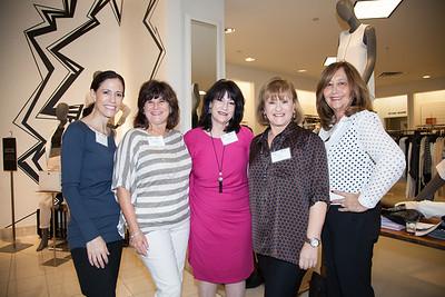 Allyse Menssinger, Shelly Brodie, Fran Berrin, Lily Serviansky and Vivian Brownstein