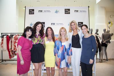Fran Burrin,Samanta Ferrini, Debbie Tiamo, Kerry Perez,Andrea Minsky and Allyse Menssiger
