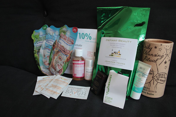 Samples and goody bags