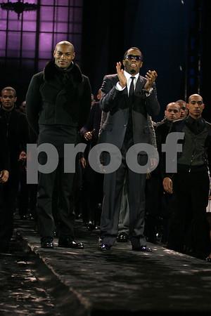 "Tyson Beckford, Sean ""P.Diddy"" Coombs photo by Rob Rich © 2008 robwayne1@aol.com 516-676-3939"