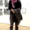 Photo by Lily Ko<br /> <br /> In This Scene:  Matt Sussman at SFMOMA. Sussman is wearing a vintage Gucci scarf he found at Buffalo Exchange, grey corduroys from Thrift Town, and shoes by John Fluevog. This look really shows how accessories can make a big, yet subtle, impact.