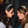 Photo by Lily Ko<br /> <br /> In This Scene: Sarah and Rebecca Chandler supported local design by purchasing these headbands at the Rachel Z fashion show at Loft 1513. These headbands add a fresh, artsy touch to their slightly more conservative outfits.