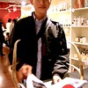 """Photo by Lily Ko<br /> <br /> In This Scene: Local photographer Sidney Lo, at his Azalea Boutique book launch for, """"Taking Pictures of People Who Take Pictures of Themselves""""."""
