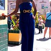Photo by Lily Ko<br /> <br /> In This Scene: Brandy Smith-Clark, in a royal blue strapless jumpsuit from Sway boutique in Berkeley. This is a bold, daring outfit and Brandy pulled it off with ease. She was right to keep her hair and make-up simple and let her outfit do the talking. As a general rule of thumb, when wearing a jumpsuit, it's a good idea to have a belt or tie define your waist and break up the outfit a bit.