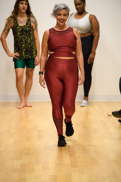Leah Shea - Jules Mesh Back Cut Out Crop Top and Karly Mesh Leggings