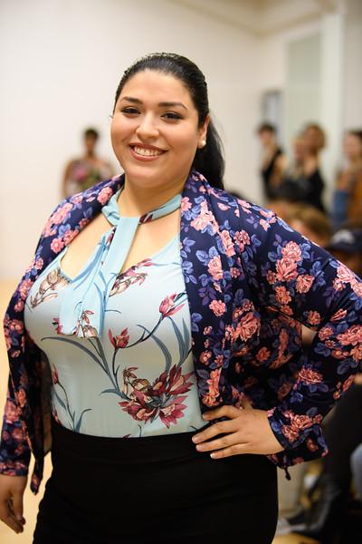 Cris Tavarez - Magie Silk Neck Tie Top, Cynthia Scuba Flyaway Blazer, and Jackie Pants