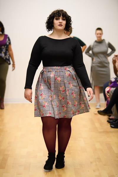 Hillary Likos - Liz Scoop Back Sweater and Colette Pleated Skirt