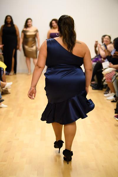 Alexandra Castro - Melinda Asymmetrical Satin Dress
