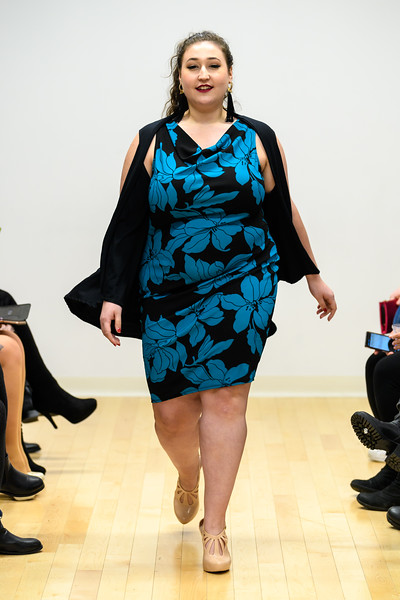 Elah Siedel - Patricia Cowl Neck Dress and Indya Capelet Cardigan