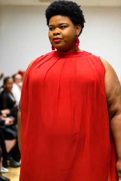 Constance Luna Smith - Monroe Pleated Chiffon Mini Dress