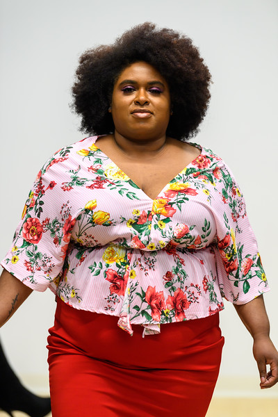 Patricia Birch - Jari Faux Wrap Circle Top and Allison Pencil Skirt