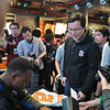 NFL Hall of Fame runningback, Barry Sanders, meets fans at the Nike NFL launch event in Shanghai
