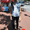 Photo by Monica Hom<br /> <br /> Mark likes finding clothes from his parents' closets. His cut-off denim vest and Doc Martens go great with his favorite black jeans.