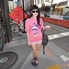 Photo by Monica Hom<br /> <br /> Ashley hates wearing pants, but likes finding retro clothing from modcloth.com. She bought her oversized Minnie sweater from the Disney Store.