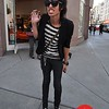 Photo by Monica Hom<br /> <br /> Robby Trauger (aka Tiger) loves wearing his leather jacket and lace-covered sunglasses.
