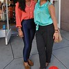 Photo by Monica Hom<br /> <br /> Rhonda and Julie are visiting from Chicago. They both love wearing high-wasted pants and genie pants.