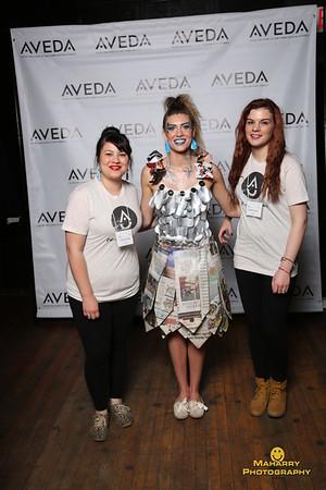 "The 2015  Aveda ""Trashion Show"