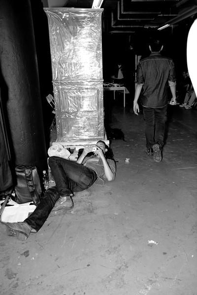 Boys of Siki Im, Backstage Siki Im SS 2012