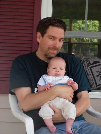 Uncle Doron visits Clement_June09