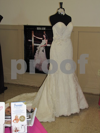 Gown from Bridal Visions.