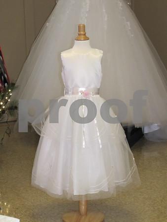 Flower girl dress from Bridal Visions.