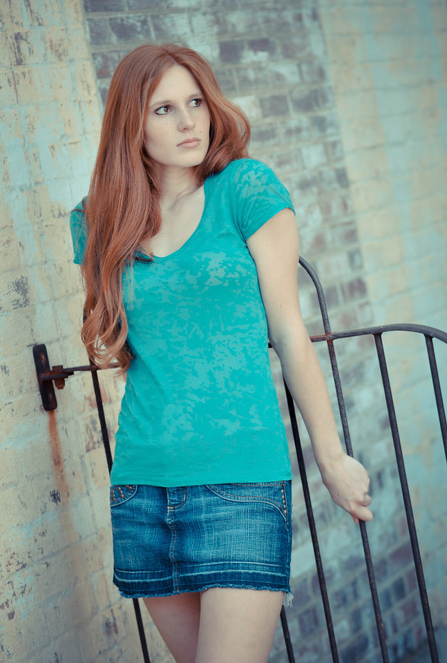 Wilmington, North Carolina is a great place for a fashion photograph shoot.