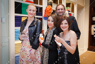 2010 Ralph Lauren Pink Pony - Chadstone - Alek with Reneé, Vickie and Barbara from Chanel Chadstone