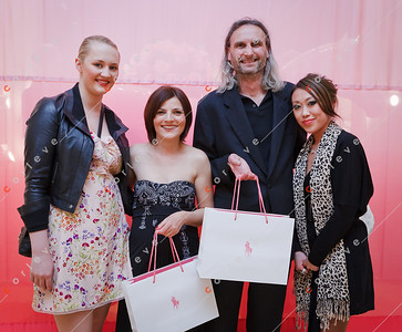 2010 Ralph Lauren Pink Pony - Chadstone - Alek with Reneé, Barbara and Vickie from Chanel Chadstone