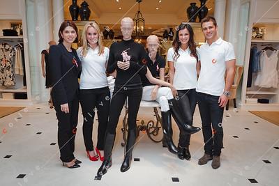 2010 Ralph Lauren Pink Pony - Chadstone - Angela Serafin, Felicity Whelan, Chelsea Butler and Scott McGregor