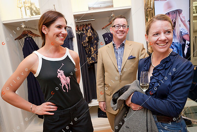 2010 Ralph Lauren Melbourne Spring Racing Carnival Launch - Nicole, Michael and Charlotte