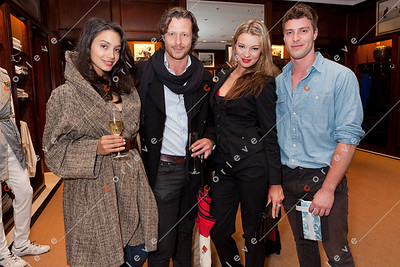 2010 Ralph Lauren Melbourne Spring Racing Carnival Launch - Natalie, Janeck, Kate and Ryan