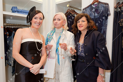 2010 Ralph Lauren Melbourne Spring Racing Carnival Launch - Gemma from RL Collins St. with Diana and Susan