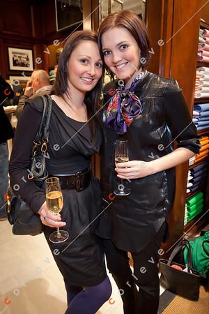 2010 Ralph Lauren Melbourne Spring Racing Carnival Launch - Sally McNammara and Tennile Jones