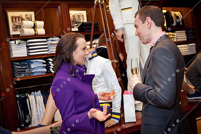 2010 Ralph Lauren Melbourne Spring Racing Carnival Launch - Dena Badawi and Ryan Hennesy