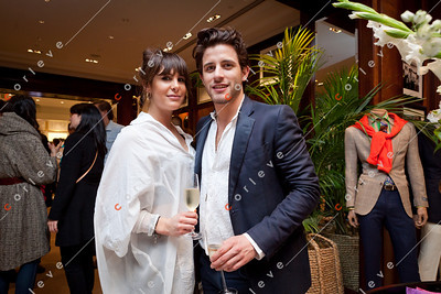 2010 Ralph Lauren Melbourne Spring Racing Carnival Launch - Karlose James and Sheriden Di Pi Etro