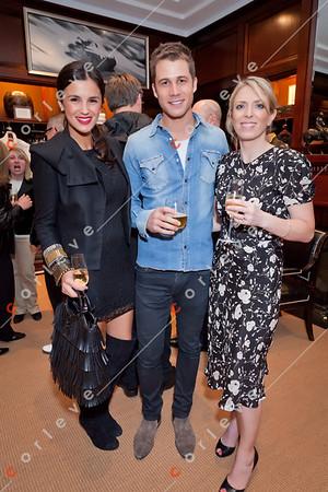2010 Ralph Lauren Melbourne Spring Racing Carnival Launch - Chelsea Butler, Scot McGregor and Janine Garner