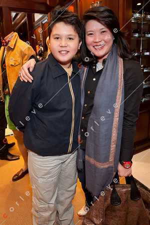 2010 Ralph Lauren Melbourne Spring Racing Carnival Launch - Polly and Kaiwen