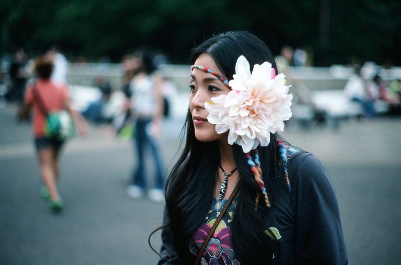 Japanese Hippy Chick