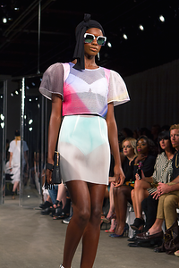 """New York Fashion Week SS15"",  MILLY By Michelle Smith"