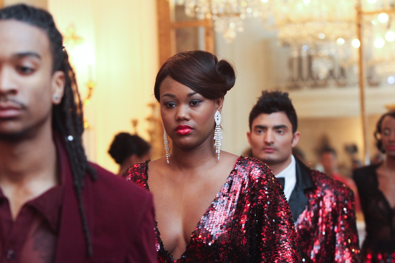 Ean Williams' Corjor International runway show at the Washington Club during DC Fashion Week.  Wednesday, February 22, 2012. Photos by Leah L. Jones