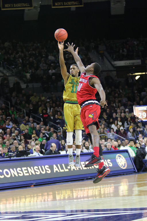 Notre Dame men's Basketball v Louisville